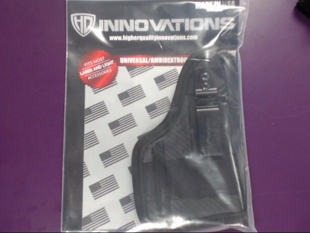 HQ INNOVATIONS OWB/IWB HOLSTER SIZE: 6
