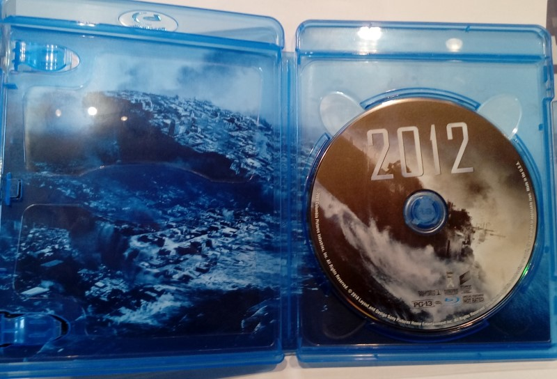 BLU-RAY MOVIE 2012