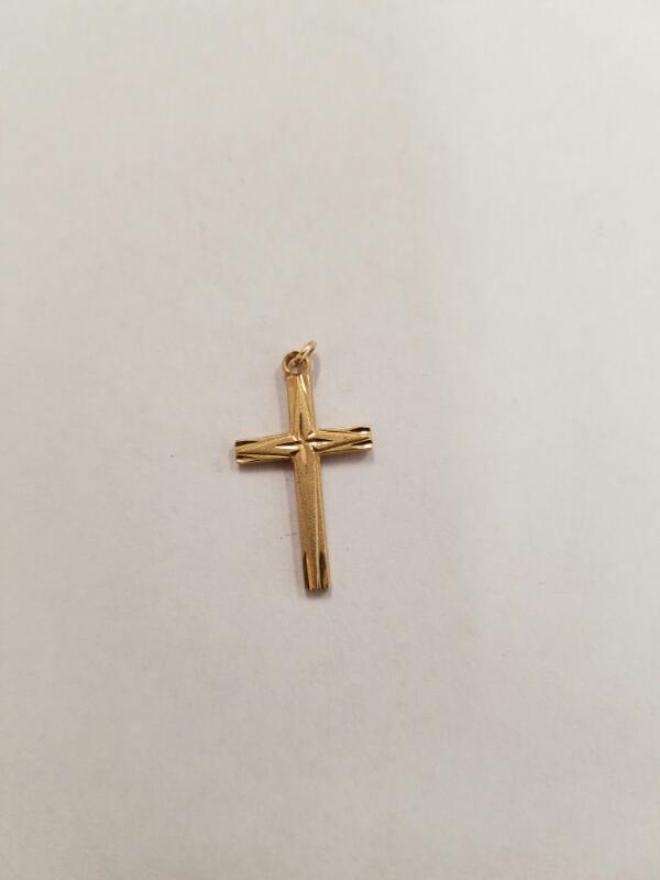 Gold Pendant 14K Yellow Gold 0.5g