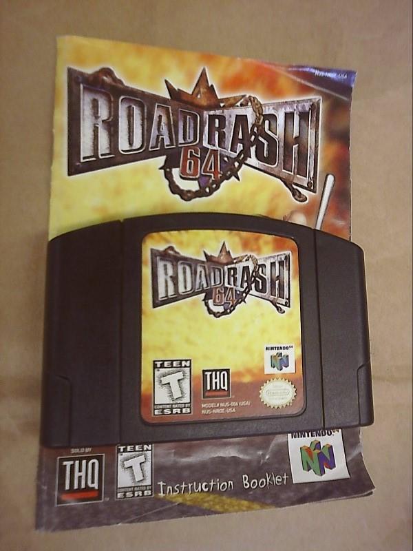 NINTENDO Nintendo 64 Game ROAD RASH 64