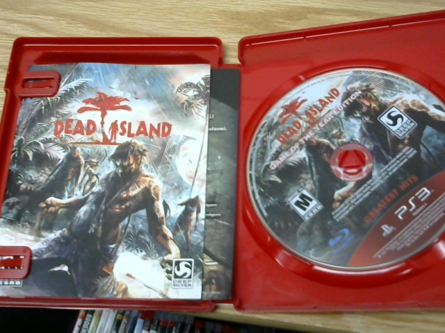 SONY Sony PlayStation 3 Game DEAD ISLAND - GAME OF THE YEAR EDITION