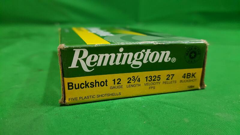 REMINGTON FIREARMS & AMMUNITION Ammunition BUCKSHOT 12 2 3/4 00BK