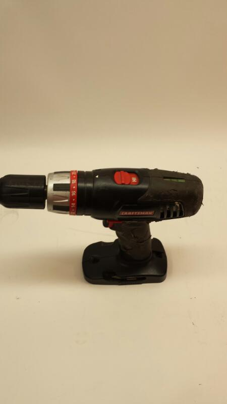 """Craftsman Model 315.115410 1/2"""" Drill Driver 19.2 Volt Combo  Kit- With 7 1/4"""""""