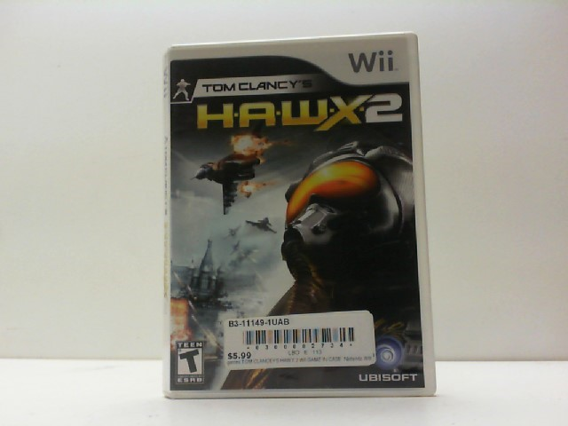 NINTENDO Nintendo Wii Game TOM CLANCY'S HAWX2