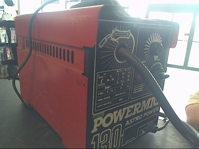 ASTRO TOOLS Wire Feed Welder POWERMIG 130