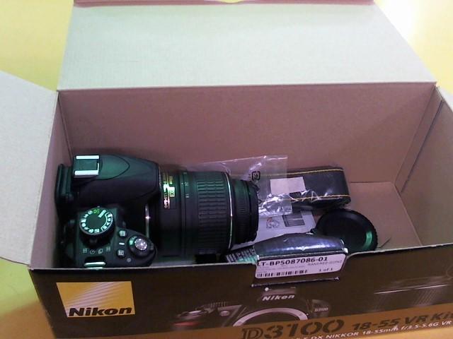 NIKON Digital Camera D3100 BODY W/18-55MM LENS