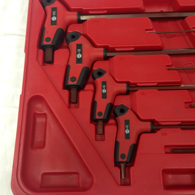 MAC 8-PIECE T ALAN WRENCHes
