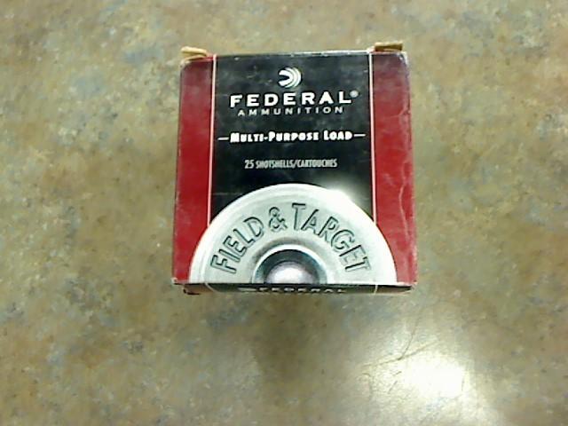 FEDERAL AMMUNITION Ammunition 12 GA SHELL