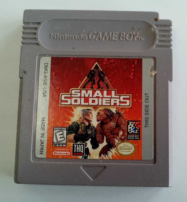 NINTENDO GAMEBOY GAME SMALL SOLDIERS