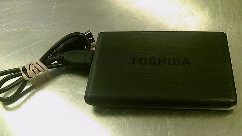 TOSHIBA 1TB EXTERNAL HARDDRIVE DTP110