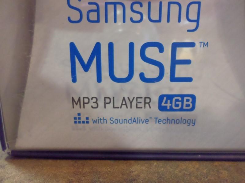 SAMSUNG MP3 MUSE 4GB