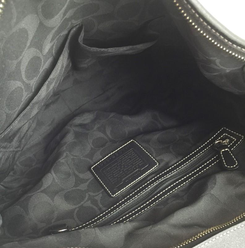 COACH 3651 LEATHER HOBO SHOULDER BAG