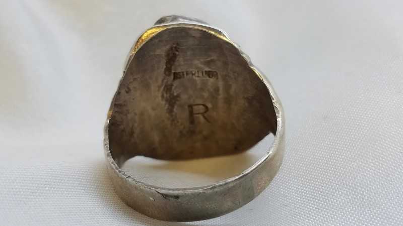 Gent's Silver Ring 925 Silver 12.9g