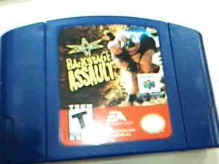 NINTENDO Nintendo 64 Game WCW BACKSTAGE ASSAULT 64