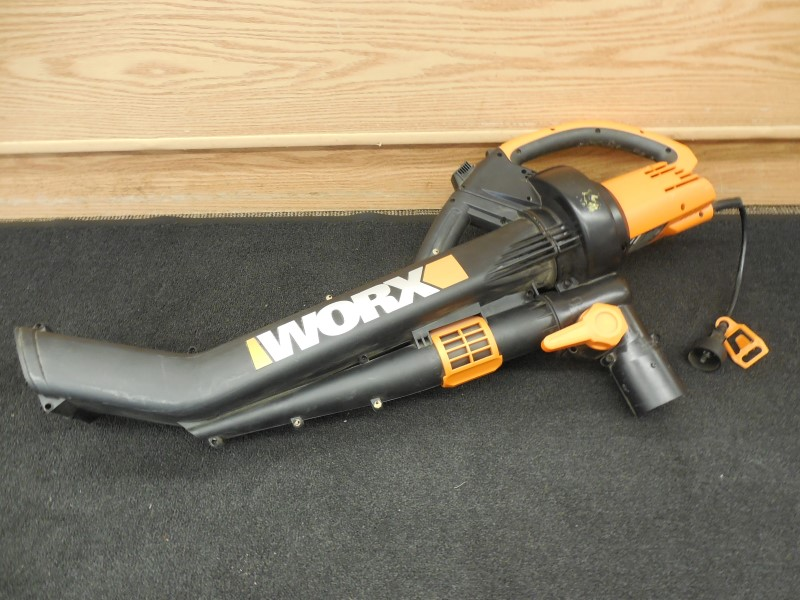 WORX WG500 TRIVAC BLOWER/MULCHER/VAC COMPACT **MISSING BAG**