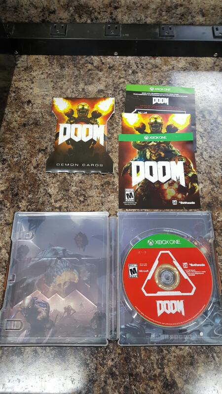 Doom: Collector's Edition (Microsoft Xbox One, 2016)