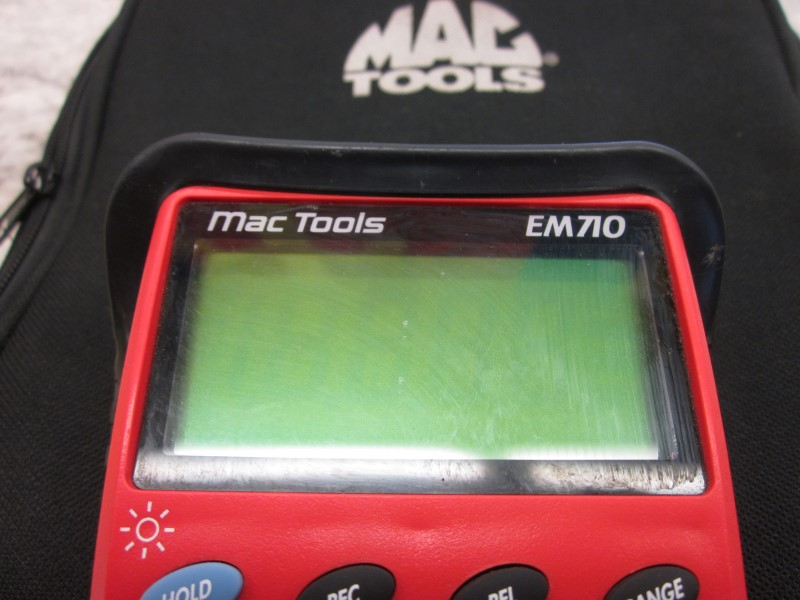 MAC TOOLS EM 710 MULTIMETER