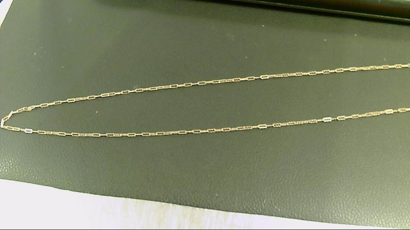 Gold Chain 10K Yellow Gold 1.2g