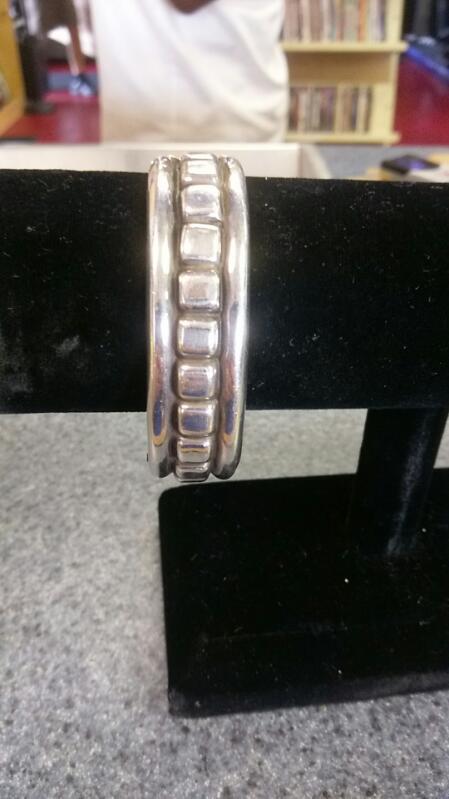 Sterling Silver Bracelet 925 Silver 55.9g Bangle bracelett