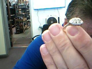 Lady's Diamond Fashion Ring 10 Diamonds .20 Carat T.W. 14K Yellow Gold 3g