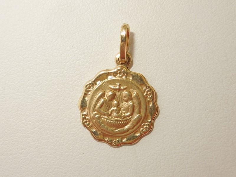 Gold Pendant 14K Yellow Gold 1.4g