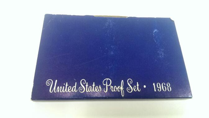 UNITED STATES 1968 PROOF SET
