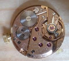 UNISEX OMEGA 14KT Yellow Gold DIAMOND WATCH MODEL 620 FRESH LEATHER