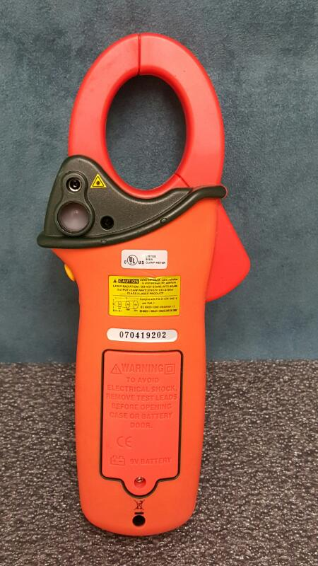 Extech EX820 1000 Ampere True RMS Clamp Meters Infrared Thermometers