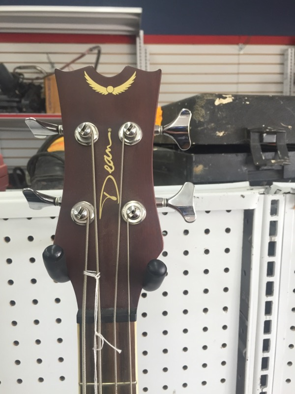 EABC GUITAR-BASS DEAN  4 STRING ACUOSTIC BASS BROWN