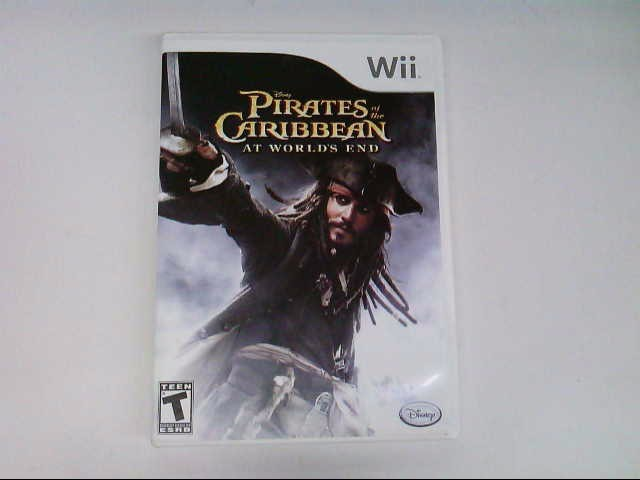 NINTENDO WII PIRATES OF THE CARIBBEAN AT WORLDS END