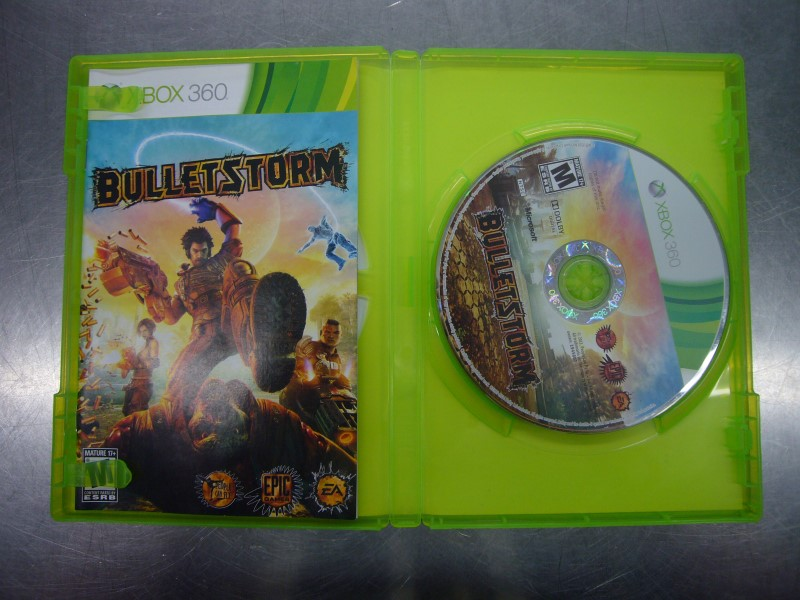 MICROSOFT XBOX 360 Game BULLETSTORM EPIC EDITION
