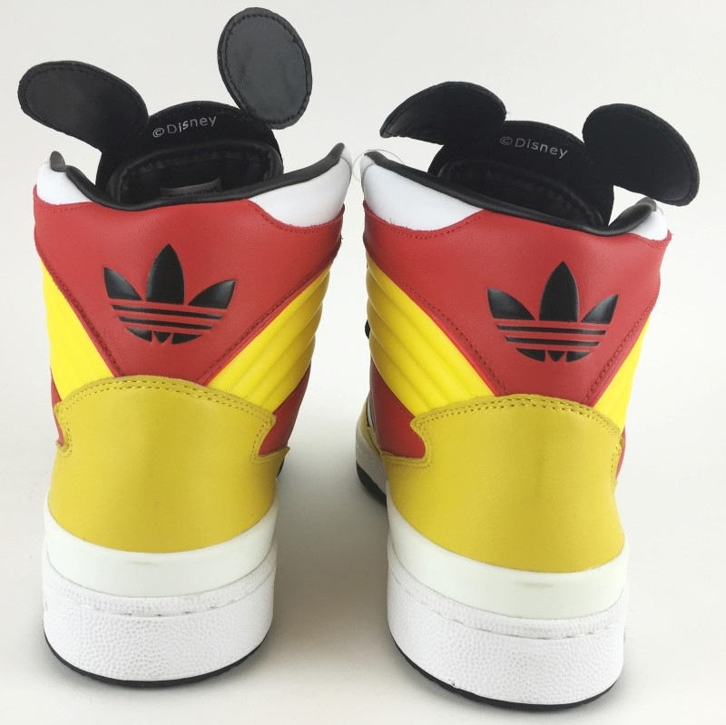 ADIDAS Shoes/Boots JS MICKEY HIGH TOPS SZ 11 1/2