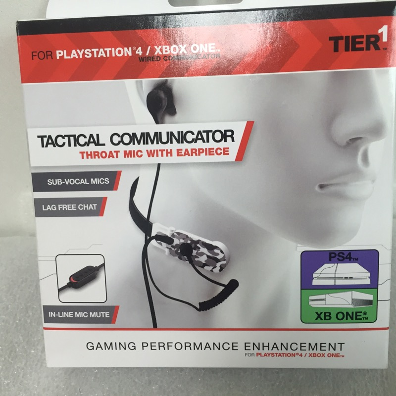 TIER-ONE Video Game Accessory TACTICAL COMMUNICATOR