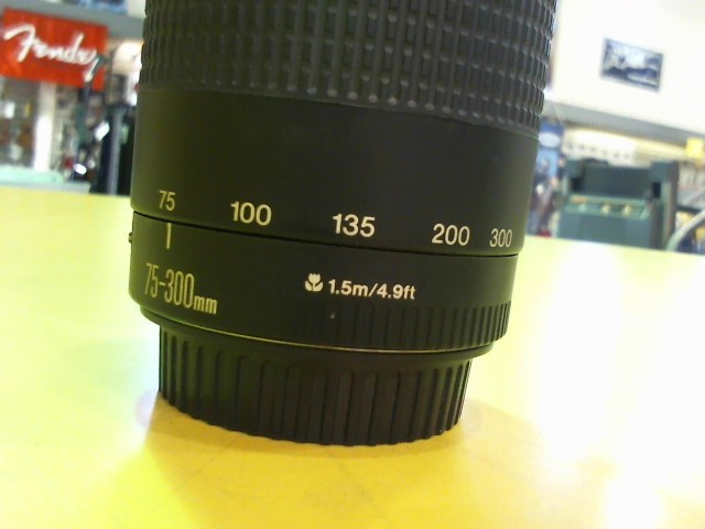 CANON Lens/Filter EF 75-300MM 1:4-5.6 III