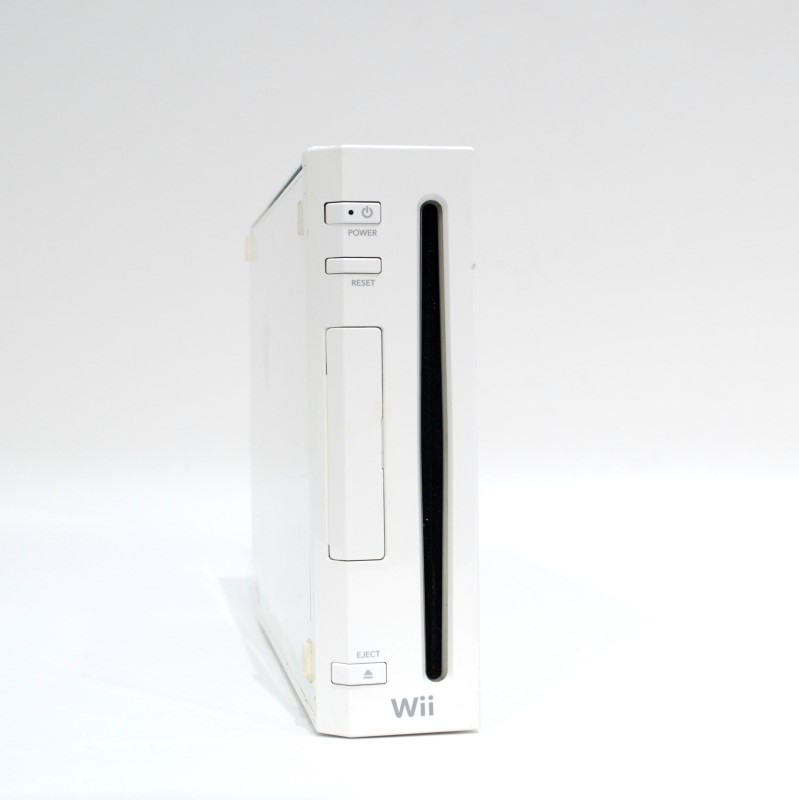 Nintendo Wii RVL-001 Home Video Game System White Bundle With Stand>