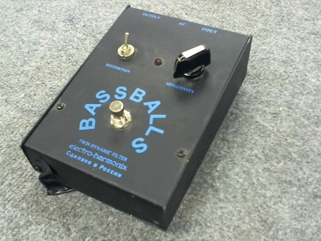 ELECTRO-HARMONIX Effect Equipment BASS BALLS