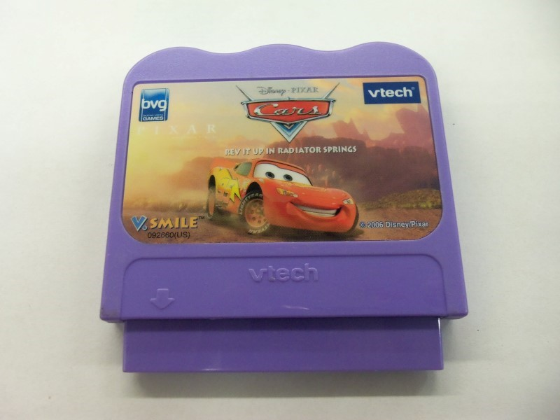 "VTECH VSMILE DISNEY CARS GAME ONLY ""FREE SHIPPING"""