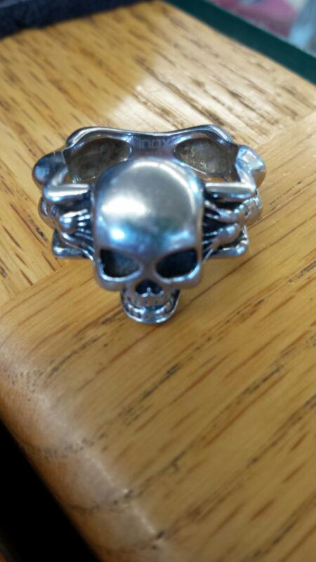 Gent's Ring Silver Stainless 7.63dwt