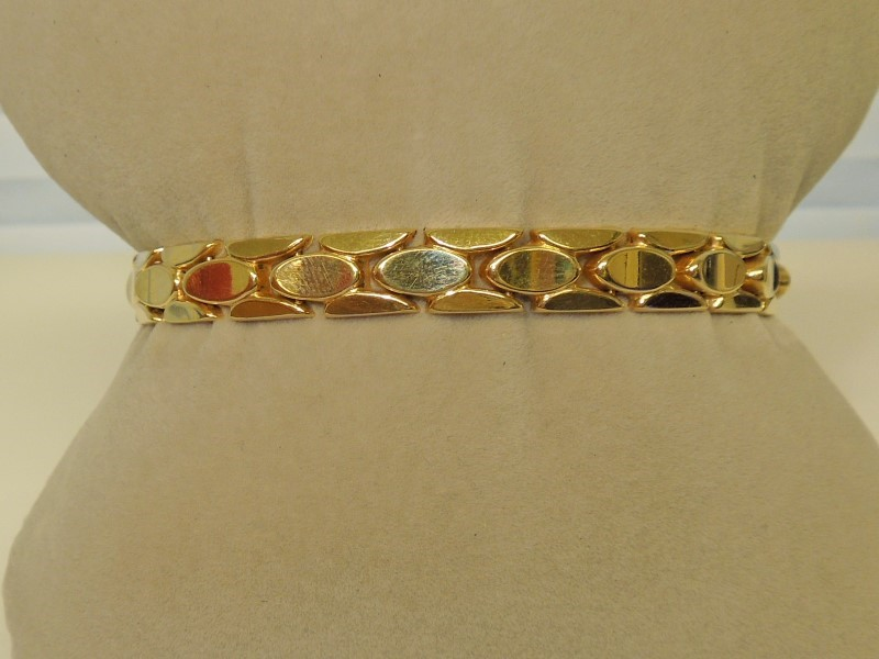 Gold Bracelet 14K Yellow Gold 13.2g
