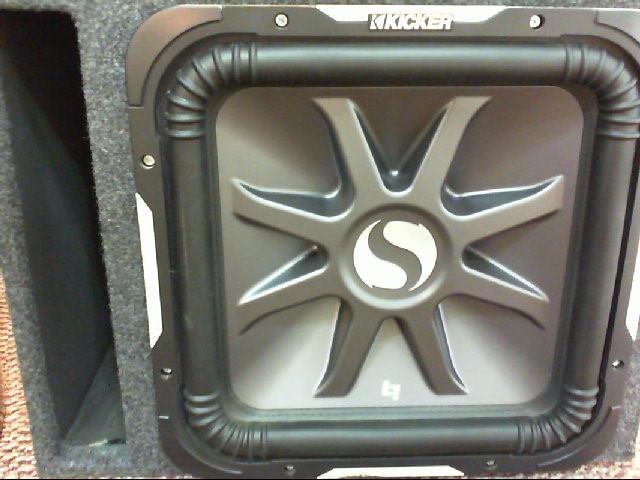 KICKER Car Speakers/Speaker System SOLO-BARIC S15L7