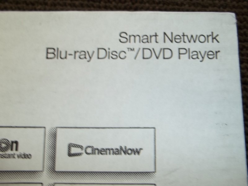 PANASONIC DMP-BD903 STREAMING WI-FI BUILT-IN BLU-RAY PLAYER W/REMOTE,MANUAL,BOX