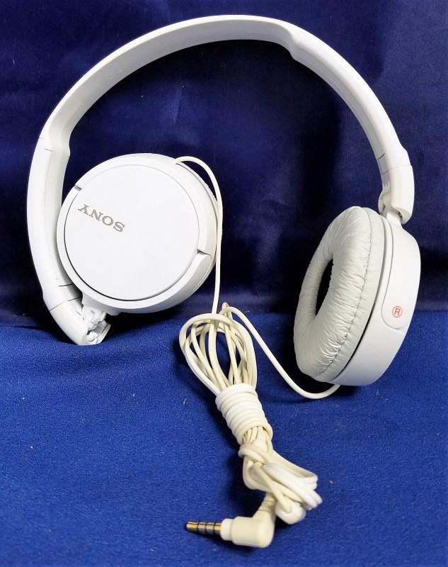 SONY HEADPHONES WHITE