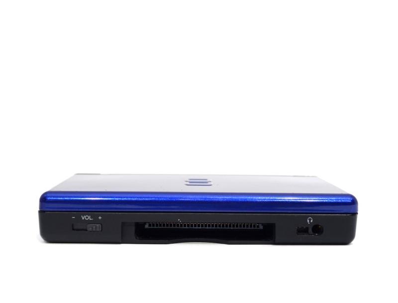 Nintendo DS Lite Blue Handheld Game System - USG-001 - Case Bundle>