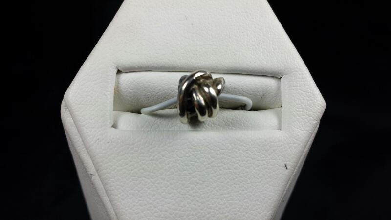 sterling silver 925 knot charm