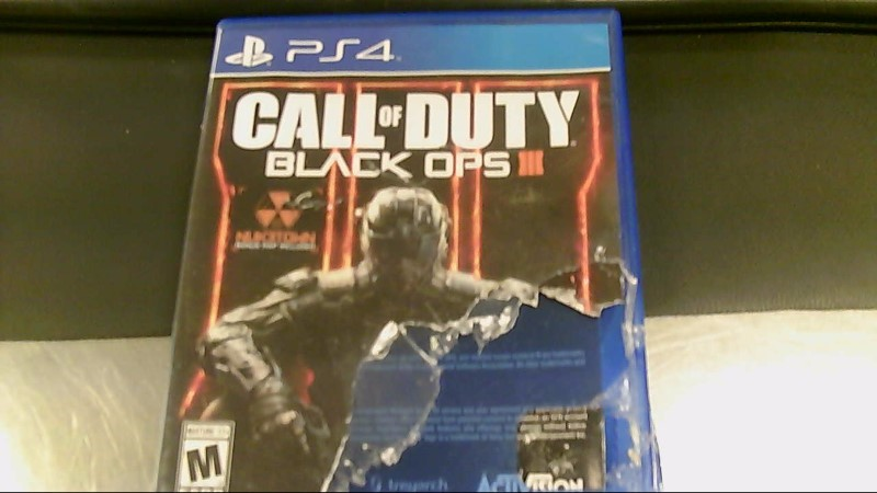 SONY PS4 GAME CALL OF DUTY BLACK OPS 3