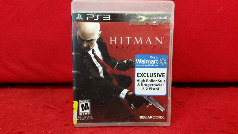 Hitman: Absolution (Sony PlayStation 3, 2012)
