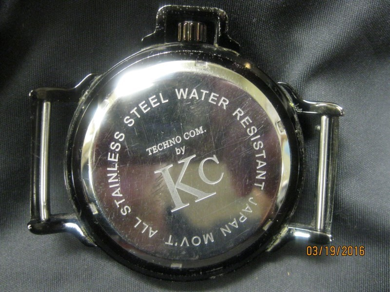 KC COLLECTIONS Gent's Wristwatch TECHNO COOL
