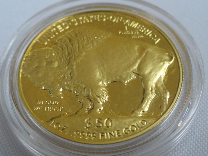 2006-W 1 oz $50 Proof American Gold Buffalo Coin