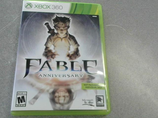 MICROSOFT Microsoft XBOX 360 Game FABLE ANNIVERSARY