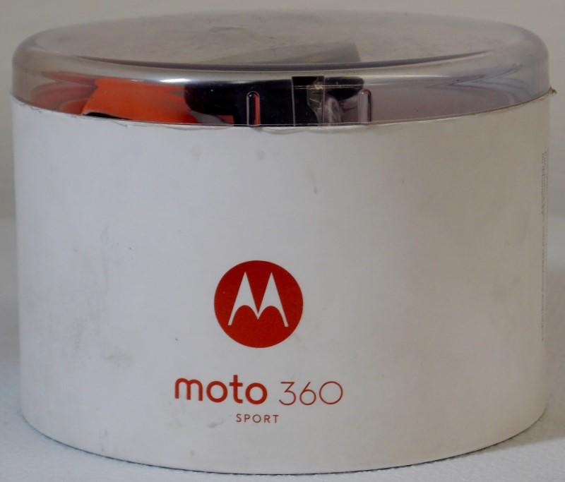 MOTOROLA  MOTO 360 SPORT 42MM BLACK 2ND GENERATION